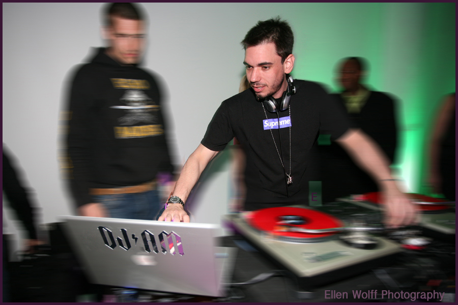 DJ AM at Alexa's party