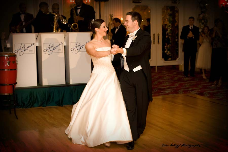 the grand entrance and first dance