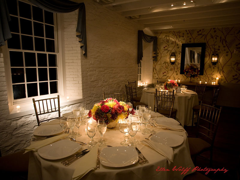 the dining room at Stone Mill