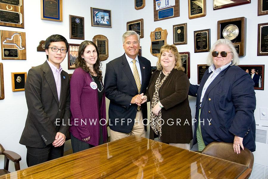 meeting with Senator Dean Skelos