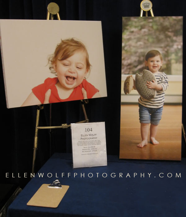 Brooke Jackman Foundation auction donation, Ellen Wolff Photography
