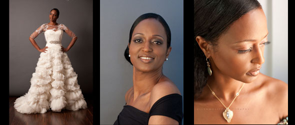 studio headshot and portraits for book cover