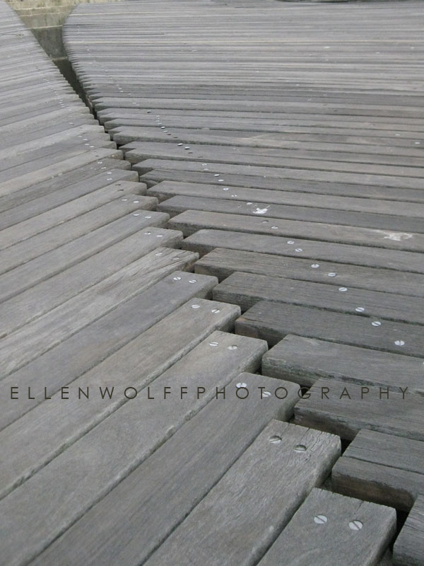 boardwalk in Edgemere NY after Hurricane Sandy