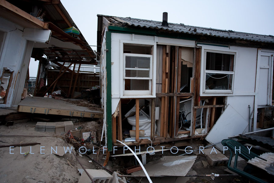 Breezy Point home after Hurricane Sandy