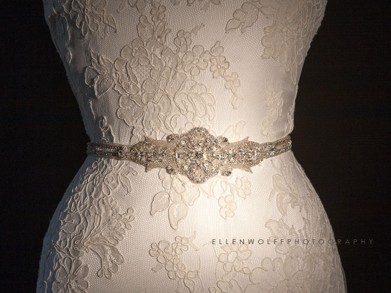 Swarovski Crystal wedding sash available at Lavan Couture