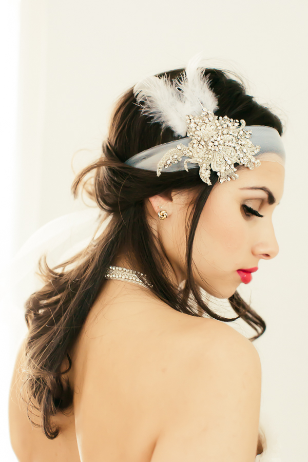 Great Gatsby inspired make-up