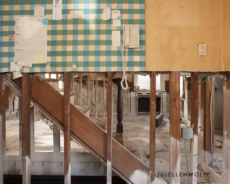 kitchen after hurricane Sandy devastation