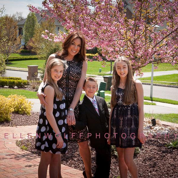 family portrait in Spring