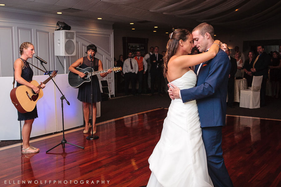 first dance at flowerfield li