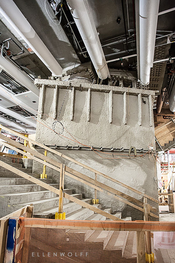 super support underneath 1WTC