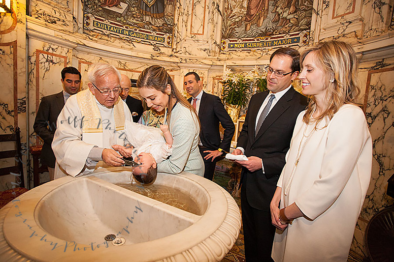 St Ignatius Loyola Baptism photographer